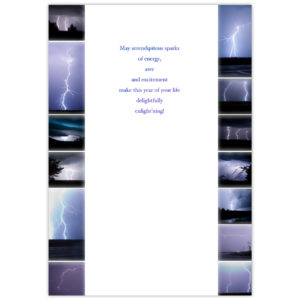 Thirteen photos taken during a lightning storm on the Canadian Prairies