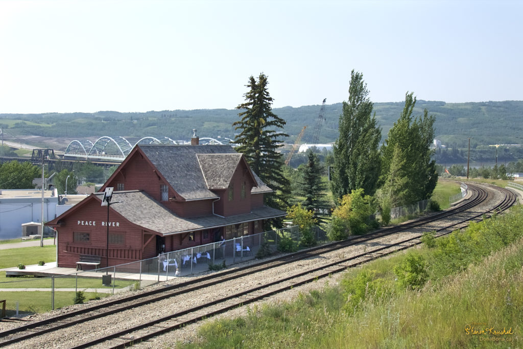 Peace River Northern Alberta Railway Station 2018