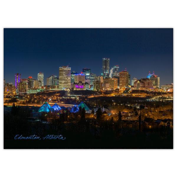 Edmonton Skyline at night